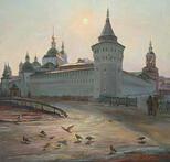 Вербное воскресенье. Свято-Данилов монастырь