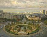Площадь Италии в Париже