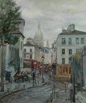 Montmartre in Rain