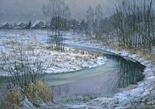 Зимний вечер в Нахабино