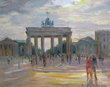 Brandenburger Tor. Berlin