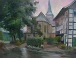 Дюссель в дождь