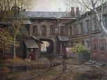 Старый московский дворик