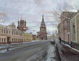 Polyanka Street in Moscow