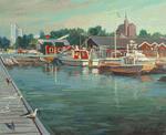 Швеция. На пристани в Nynäshamn