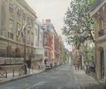 Улица Буасье в сентябре. Российский культурный центр в Париже