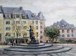 Площадь Клерфонтен. Люксембург