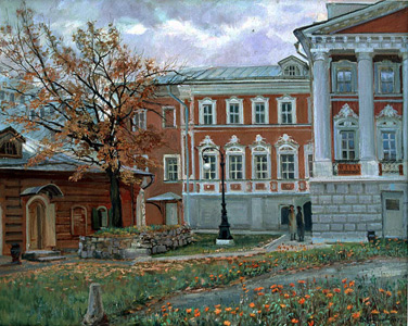 Chernigovsky pereulok in Autumn. 1995