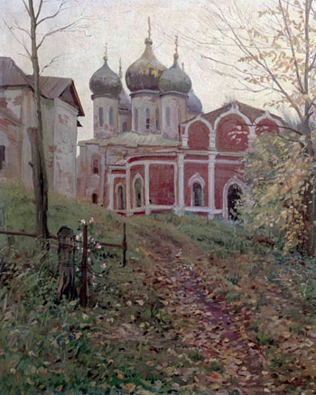 Autumn in Kolomna kremlin. 1987
