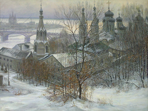 Благовещенский монастырь в Нижнем Новгороде. 2003