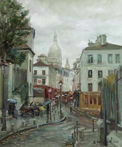 Дождь на Монмартре