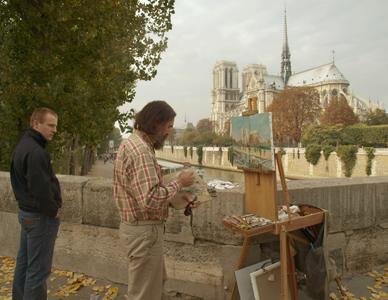 Художник Виктор Лукьянов. Осень 2008 года